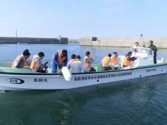 完全電動ドライブ漁船