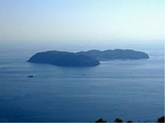 沼島の全景