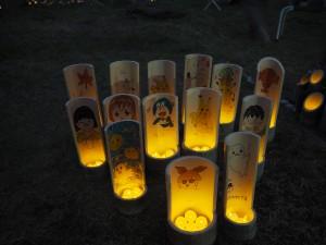 竹灯籠祭③